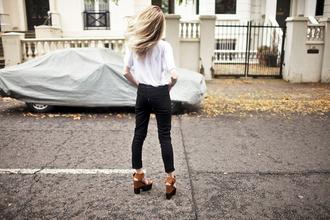 t-shirt jacket bag blogger alice point jeans