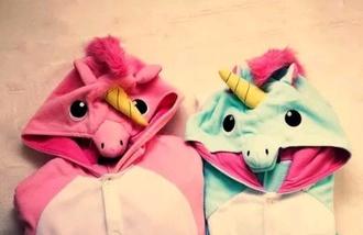 pajamas unicorn funny sweet