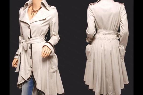 model white coat
