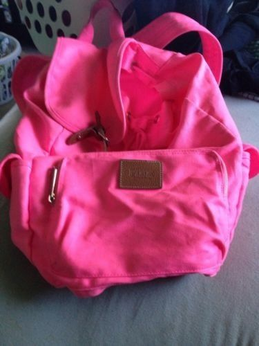 Victorias Secret Pink Backpack | eBay