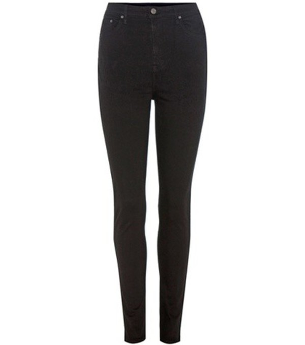 Grlfrnd The Kendall high-rise skinny jeans in black