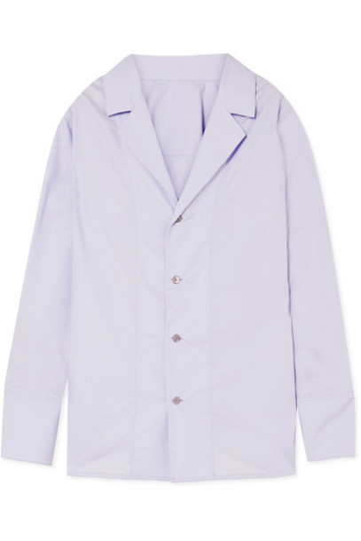 MARNI shirt cotton lilac top