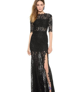 Veronica black lace maxi dress · fashion struck · online store powered by storenvy
