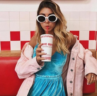 dress asos summer summer dress california velvet velvet dress blue dress pink pink jacket denim oversized jacket style jacket