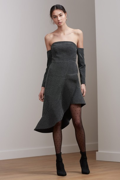 Keepsake dress love light black