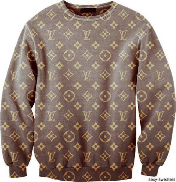 sweater lv long sweater jacket. Black Bedroom Furniture Sets. Home Design Ideas