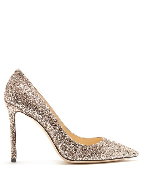 glitter pumps rose gold rose gold shoes