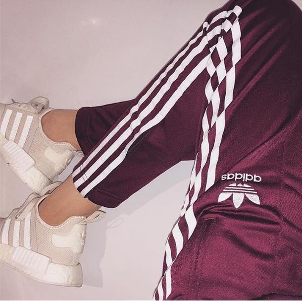 pants adidas adidas pants burgundy