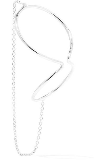 Saskia Diez cuff ear cuff silver jewels