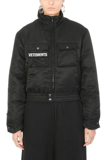 Vetements jacket black