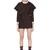 Pleated School Girl Wool Blend Dress
