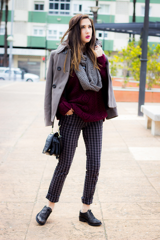 blogger bag scarf shoes and basics