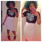 chicago,chicago over everything,bgc,bad girls club,bad girl club,erika lucci vee,lucci vee,pencil skirt