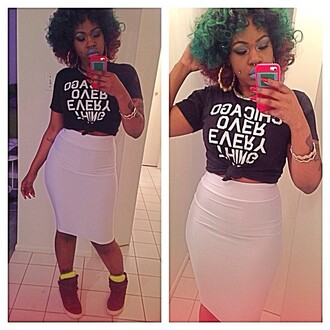 lucci vee bgc bad girls club erika lucci vee chicago chicago over everything bad girl club pencil skirt