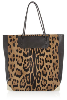 Alexander Wang Prisma calf hair and leather tote - 40% Off Now at THE OUTNET