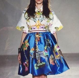 skirt navy blue navy skirt short skirt color medi skirt printed skirt blue skirt