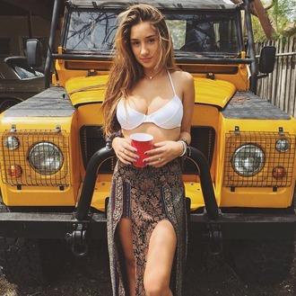 skirt maxi skirt savannah montano boho shirt slit skirt shirt