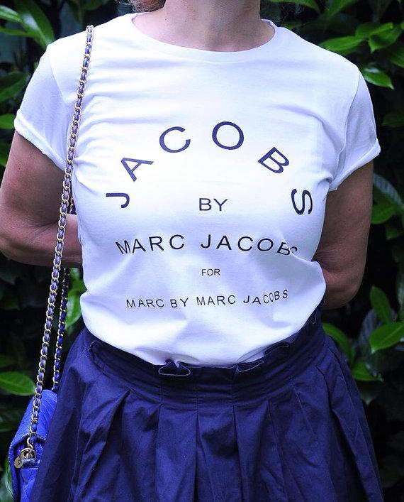 Marc jacobs tshirt style printed tshirt woman by streetfashiontee