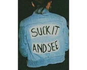 jacket,arctic monkeys,suck it and see,blue jean jacket,denim,denim jacket