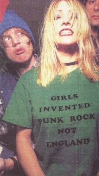 t-shirt punk rock rock punk grunge band shirt england style