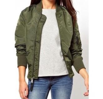 coat army green jacket