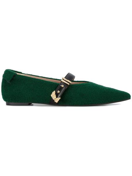 Reike Nen women pumps green shoes