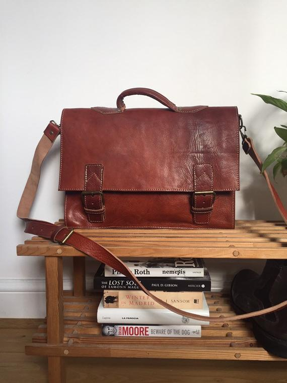 MESSENGER BAG, 16 x 11 inch, leather briefcase, leather Messenger bag, Leather Satchel, Computer Leather bag, Hipster Bag, documents bag