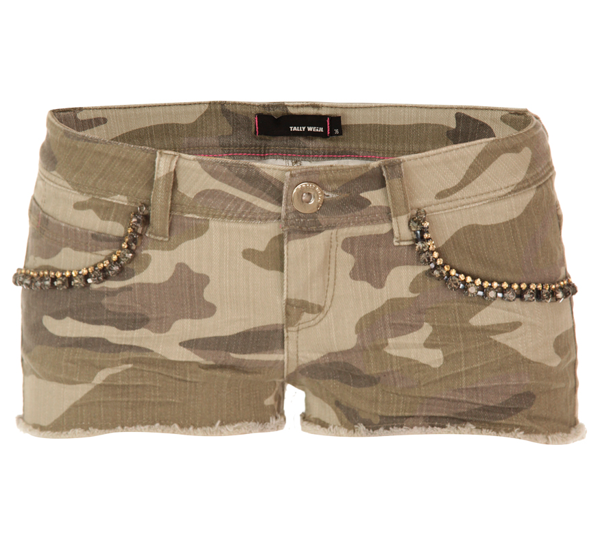 Tally weijl: camo shorts