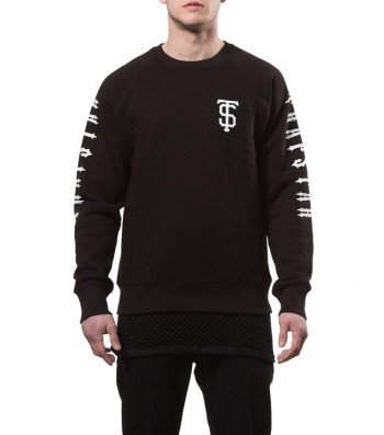 TS Team sweater (black) - Sweatshirts  | Trapstar