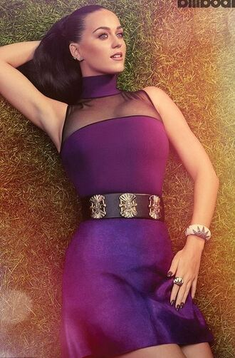 dress purple katy perry editorial purple dress