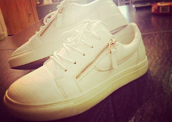 sneakers white sneakers white shoes gold sequins fashionista