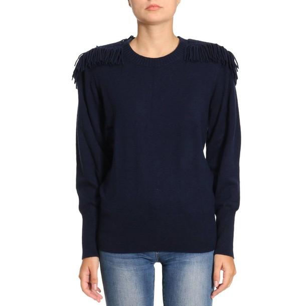 Burberry sweater women blue