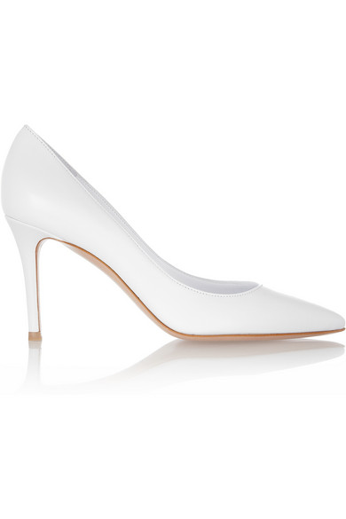 Gianvito Rossi | Leather pumps | NET-A-PORTER.COM