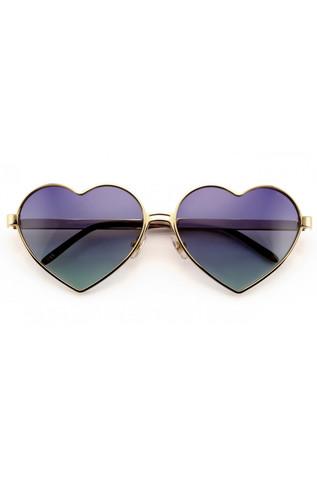 2015 Wildfox Lolita Sunglasses in Gold/Multi Gradient - Accessories | ISHINE365
