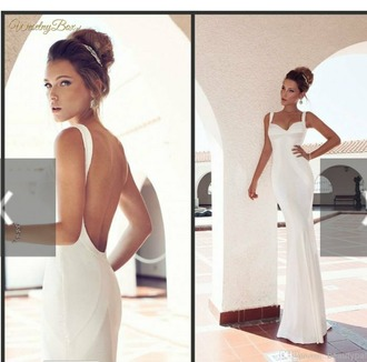 dress smooth wedding dress bodycon dress