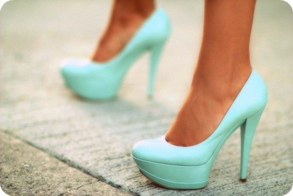 pump shoes aqua blue pumps high heels