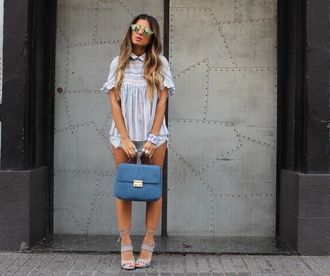 style by nelli blogger shirt shorts bag hat shoes