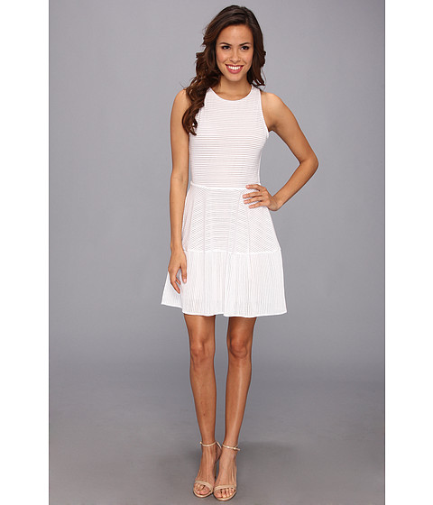 BCBGMAXAZRIA Cassandra Sleeveless A-Line Lace Dress - Zappos.com Free Shipping BOTH Ways