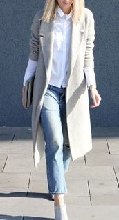 coat,grey,pea coat