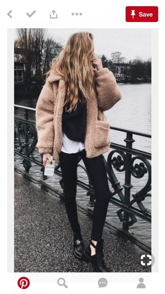 coat tan winter outfits fall outfits
