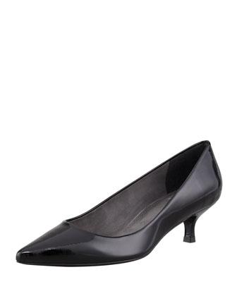 Stuart Weitzman 50/50 Patent Leather Knee-High Boot, Black  - Bergdorf Goodman