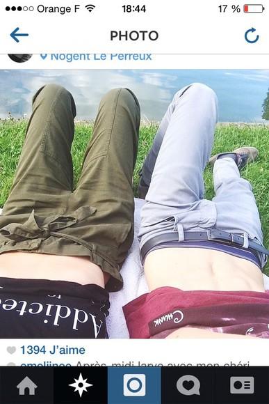 fashion pants kaki jeans army pants