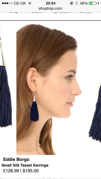 jewels eddie borgo tassel earrings