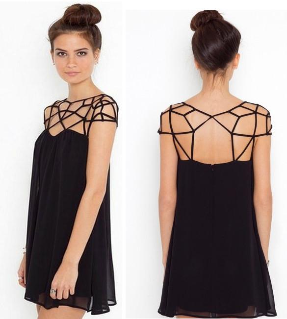 Cute Cut-Out Dress