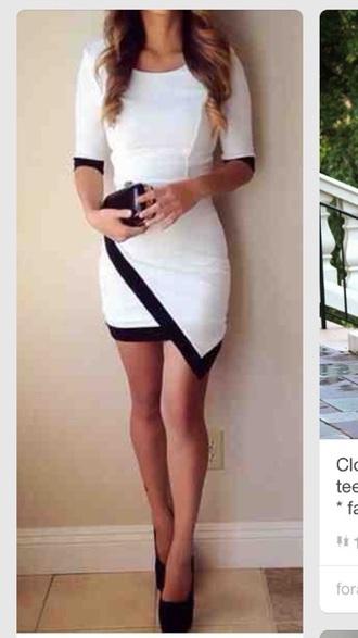 work teen adult beautiful dress cute style white dress fashion