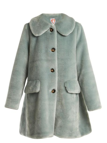 Shrimps coat fur coat fur mint