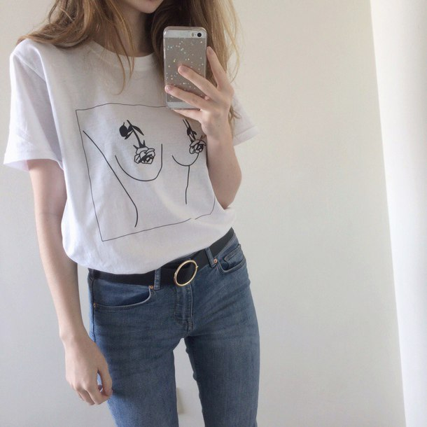 T-shirt aesthetic aesthetic tumblr aesthetic grunge pale aesthetic aesthetic shirt ...