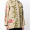 Red valentino embroidered floral cargo jacket - farfetch