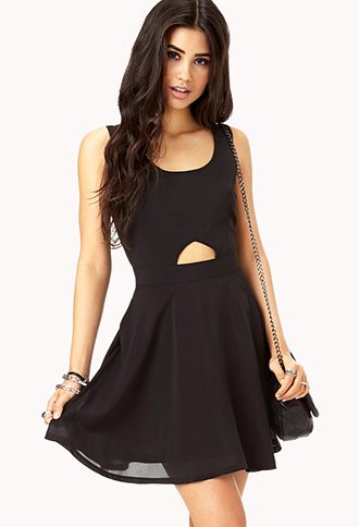 Daring Caged Back Dress | FOREVER 21 - 2000076325