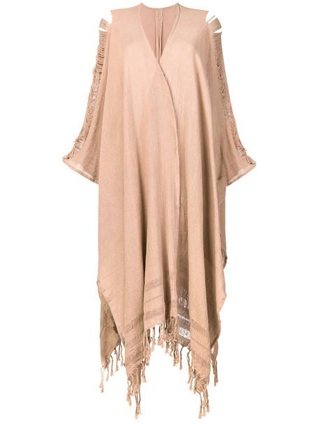 Caravana cardigan cardigan women cotton brown sweater